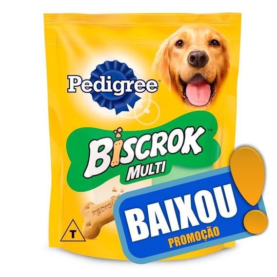 Biscoito Pedigree Biscrok Multi Para Cães Adultos - 500 G