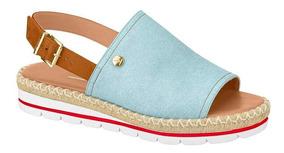 Sandália Vizzano Feminina Flatform Jeans Claro - 6388.100
