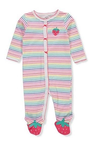 Pijamas Carters Bebe 100% Org Niña Recién Nacido
