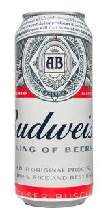 Cerveza Budweiser Rubia Lata 473ml X1 Unidad