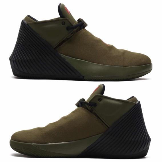 Tenis Nike Jordan Why Not Zero Verde #26 Al #30 Mex C/ Caja