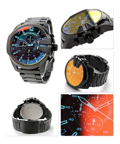 Relógio Diesel Camaleão Dz4318 100% Original 2 Anos Garantia - Masculino - Mega Chief