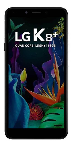 LG K8+ Dual SIM 16 GB Preto 1 GB RAM