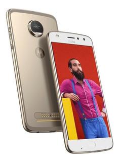 Motorola Moto Z2 Play Dual Sim - Ouro - 64 Gb - Processador Octa-core E 4gb De Ram - Novo