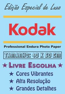 Pôster Cartaz Foto Kodak Personalizado Livre Escolha 40x60cm
