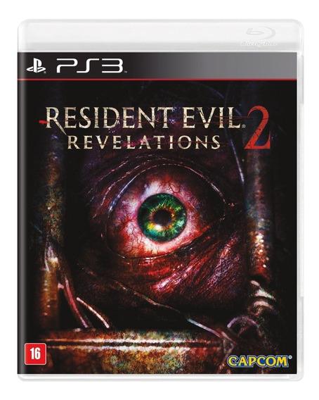 Game Play3 - Resident Evil Revelations 2 - Semi-novo Ps3