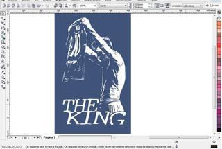 Vector Messi The King Para Plotter De Corte,serigrafia,subli