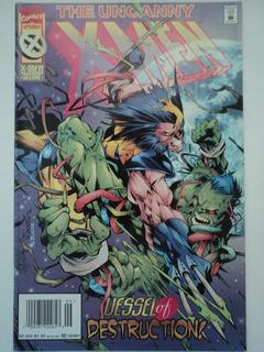 Hq-the Uncanny X-men:#324:marvel Comics:importado:inglês