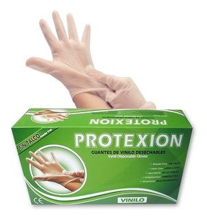 Guantes Vinilo T.l Caja X100und.protex Ion