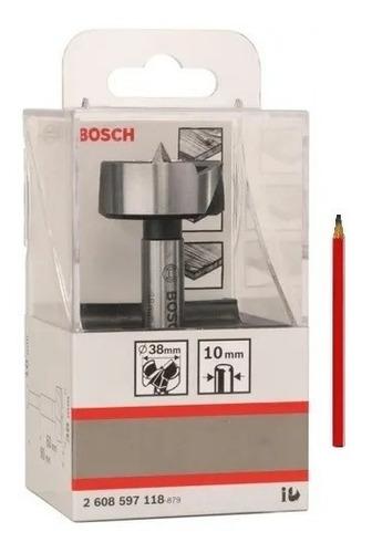 Imagen 1 de 8 de Mecha Para Madera Forstner Bosch 38mm Bisagras + Regalo