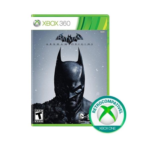 Batman Arkham Origins - Xbox 360 / Xbox One - Mídia Física