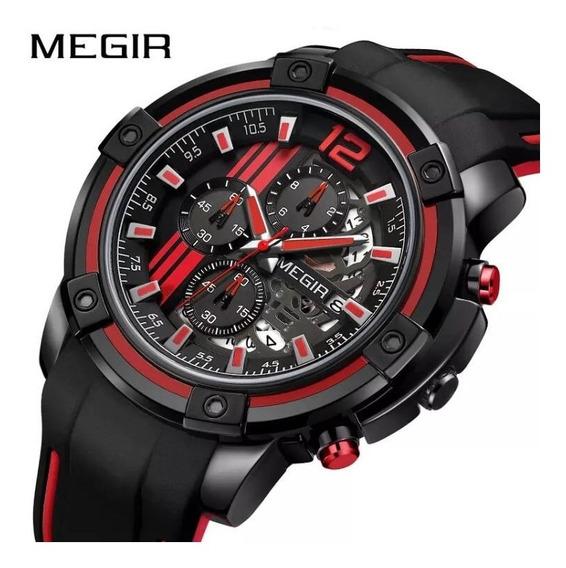 Relógio Masculino Megir 100% Original
