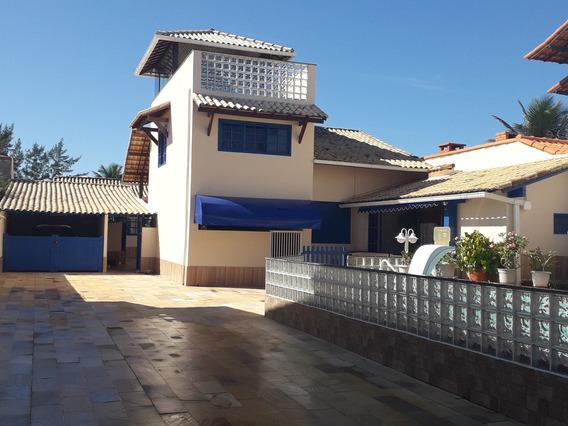 Luxuosa Casa Com 07 Quartos E Piscina No Condomínio Orla 500