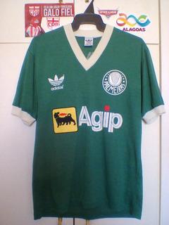 Camisa Oficial Antiga Palmeiras/sp adidas 1987/ Uma Lenda!