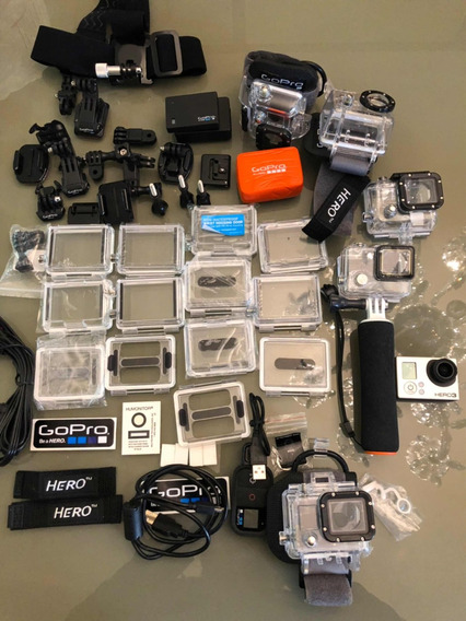 Kit De Acessórios Para Cameras Gopro (somente Acessórios)