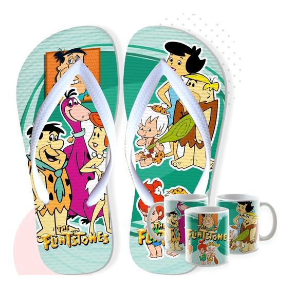 Chinelos Personalizados + Barato Flintstones