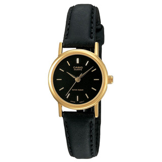 Reloj Mujer Casio Ltp-1095q-1a Analogo Negro / Lhua Store