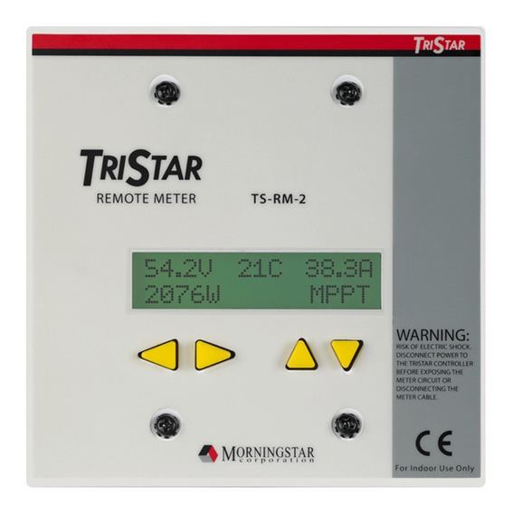 Display Remoto Regulador Solar Morningstar Ts-rm-2 - Enertik