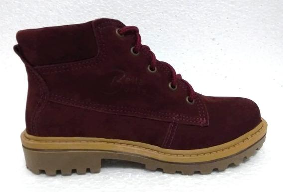 Bota Bella Boots 0701 (f) Bordo/nobuck