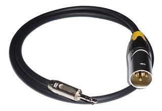 Cable Canon Macho A Miniplug Xlr Profesional 100% X 1 Mts