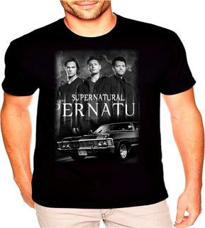Camiseta Supernatural Dean Sam Winchester Oferta Relampago