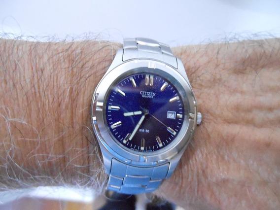 Excepcional Relógio De Pulso Citizen Quartzo
