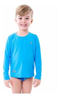 Kit 5 Camisas Infantil Proteção Uv Solar Radar Segunda Pele