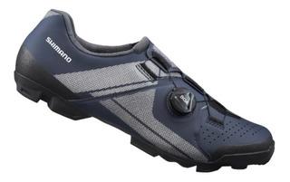 Sapatilha Shimano Xc3 Sh-xc300 Sistema Boa Pedal Clip Azul