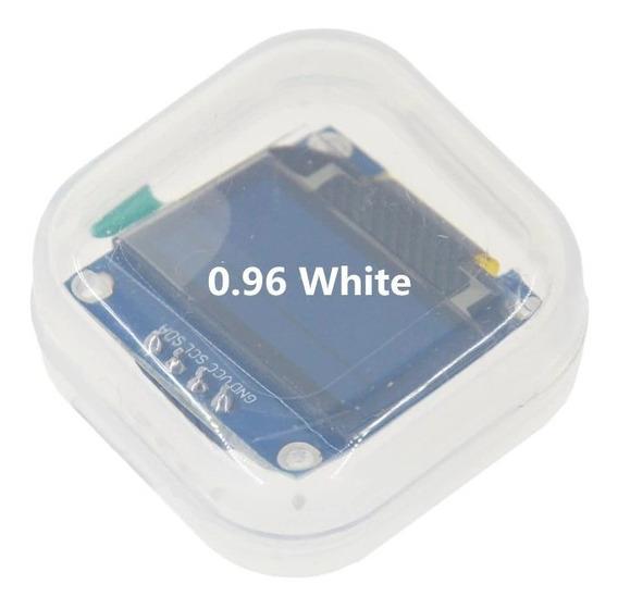 Display Oled 0.96 I2c Branco Lcd 128x64 Para Arduino / Esp32