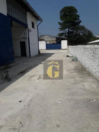 Imagem 1 de 5 de Galpão Comercial , Batistini, São Bernardo Do Campo. - Ga0051