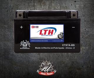 Moto Bateria Lth Ctx7l-bs (ytx7l-bs) Sin Mantenimiento