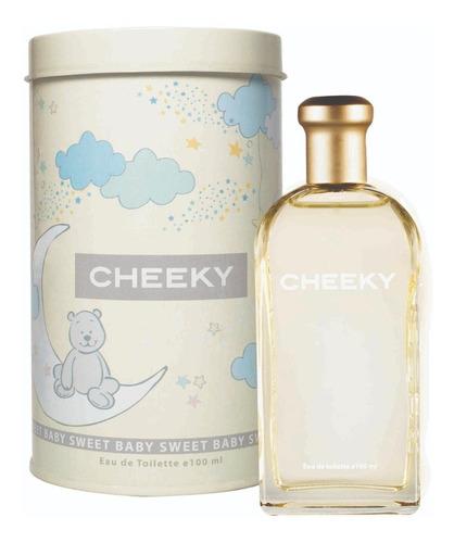 Imagen 1 de 2 de Perfume Para Bebes Cheeky Sweet Baby X100 Ml + Lata Regalo