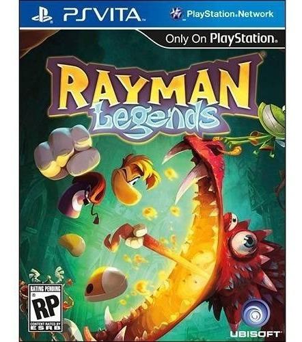 Game Rayman Legends Ubisoft Ps Vita Novo Original Lacrado