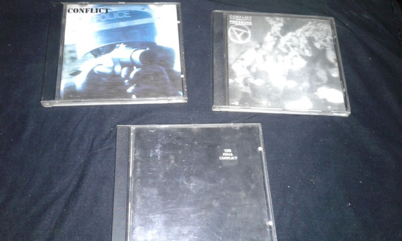 Lote Cds Conflict X3