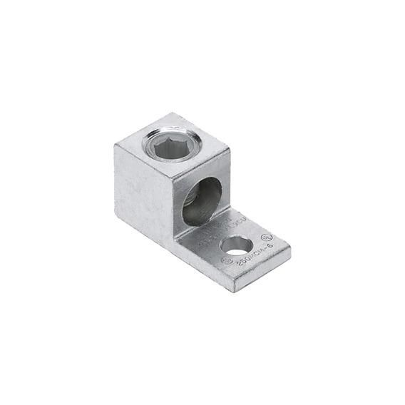 Conector Mecánico De Barril, Aluminio, De Un Solo Orificio