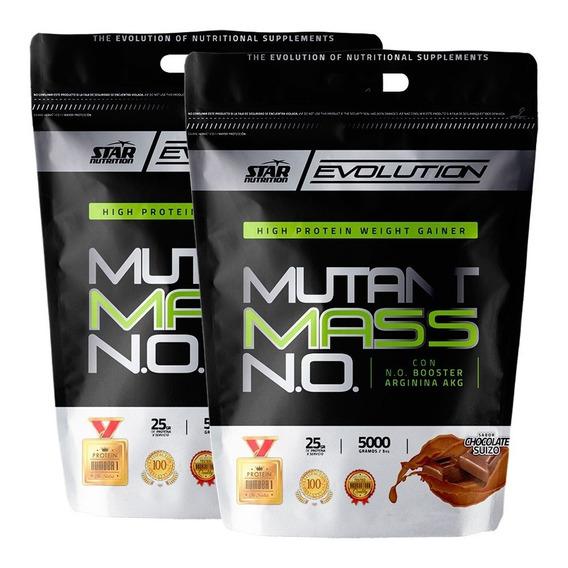 Mutant Mass 5 Kg X 2 Star Nutrition Ganador De Masa Muscular