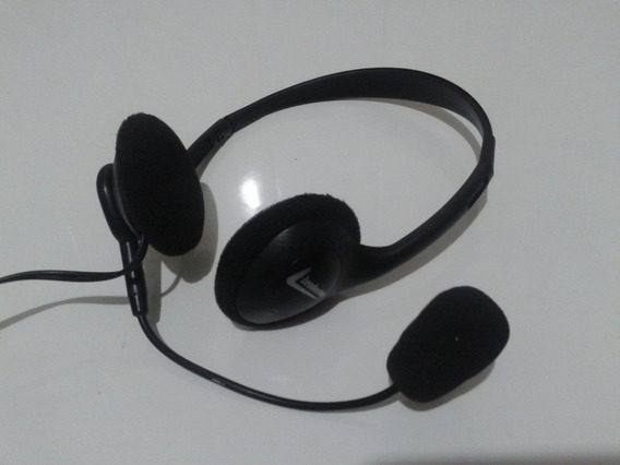 Headphone Com Microfone Multimídia Leadership