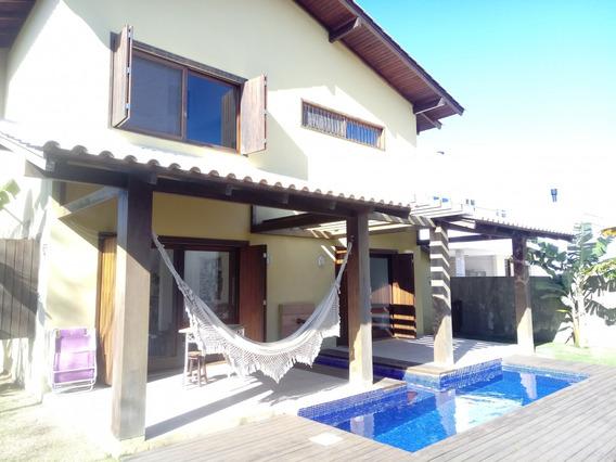 Casa Com 4 Dorm Na Lagoa Da Conceição - 74900