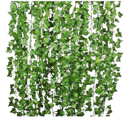 Jardin Vertical Hiedra Artificial Hojas Eucalipto