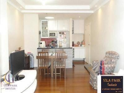 Apartamento Com 3 Dormitórios À Venda, 74 M² Por R$ 435.000,00 - Umuarama - Osasco/sp - Ap1589