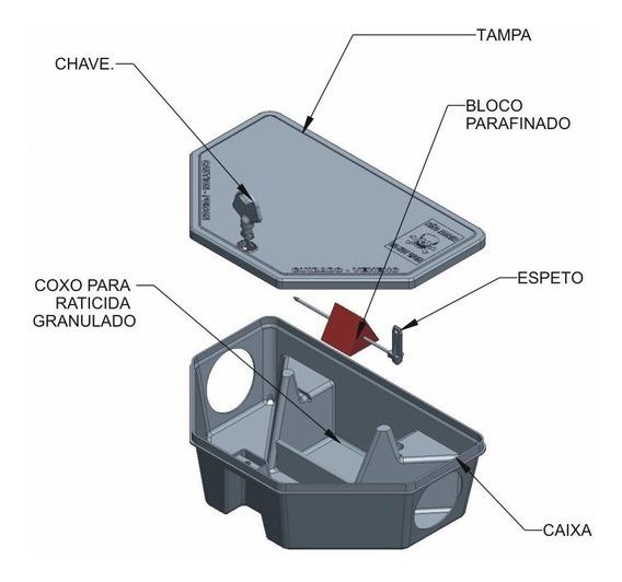 Porta Isca - 50 Unidades
