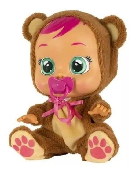 Boneca Cry Babies Bonnie C/ Chupeta Multikids - Br1028