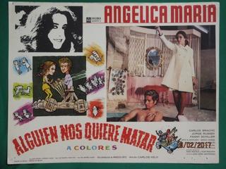 Angelica Maria Alguien Nos Quiere Matar Carlos Bracho Cartel