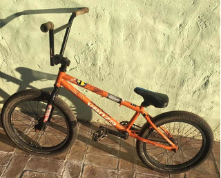 Bicicleta Venzo Cube Rodado 20 Usada