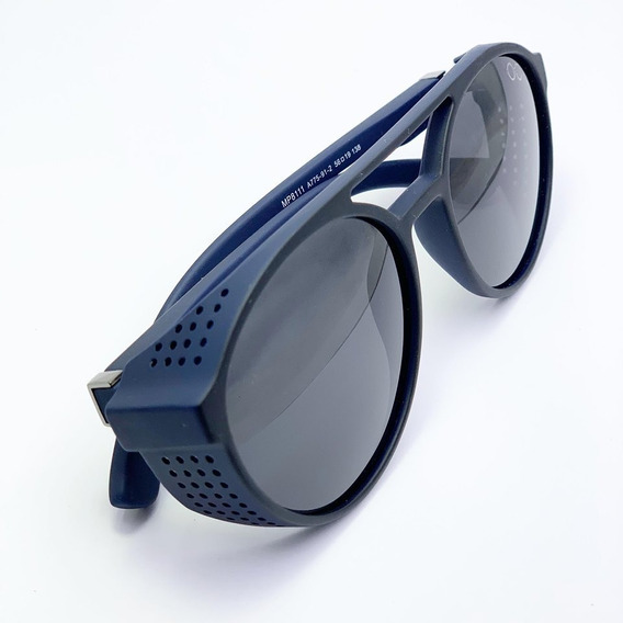 Oculos De Sol Osklo Preto Redondo Original Uv400