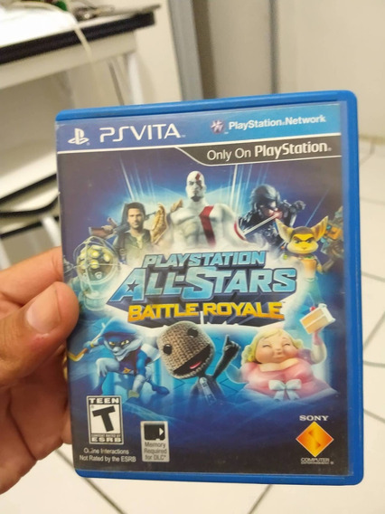 Playstation All-stars Batlle Royale Para Ps Vita