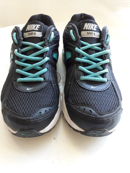 Zapatillas Marca Nike N° 37 Muy Buen Estado C/detalle Talon