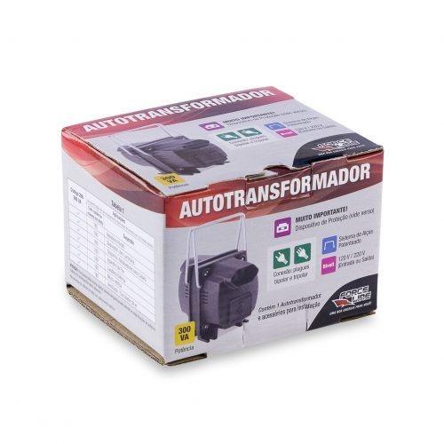 Autotransformador 300va - E/s:bivolt (300va = 150w)