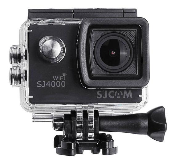 Sj4000 Wi-fi Sjcam + Microfone Capacete Sem Juros Pato Motos