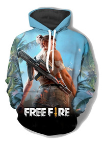 Blusa Moletom Frio Free Fire Battlegrounds Mobile Games Free